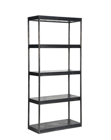 Versailles Black Marble Bookcase