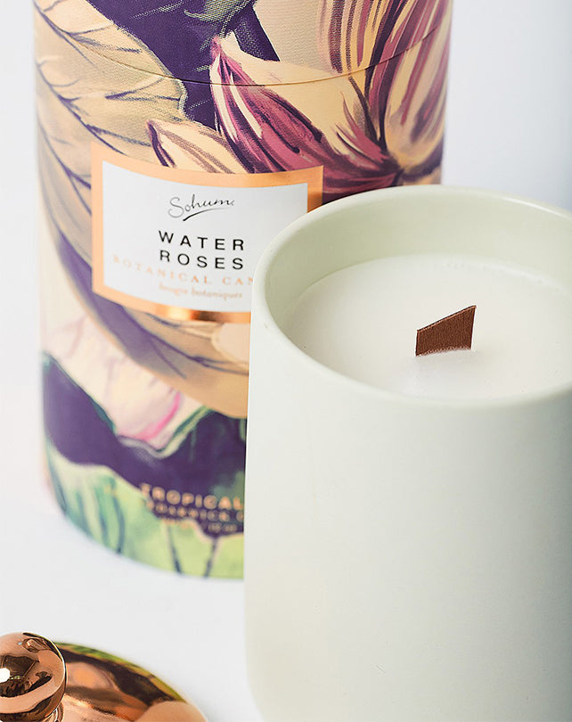 Sohum Water Roses Candle