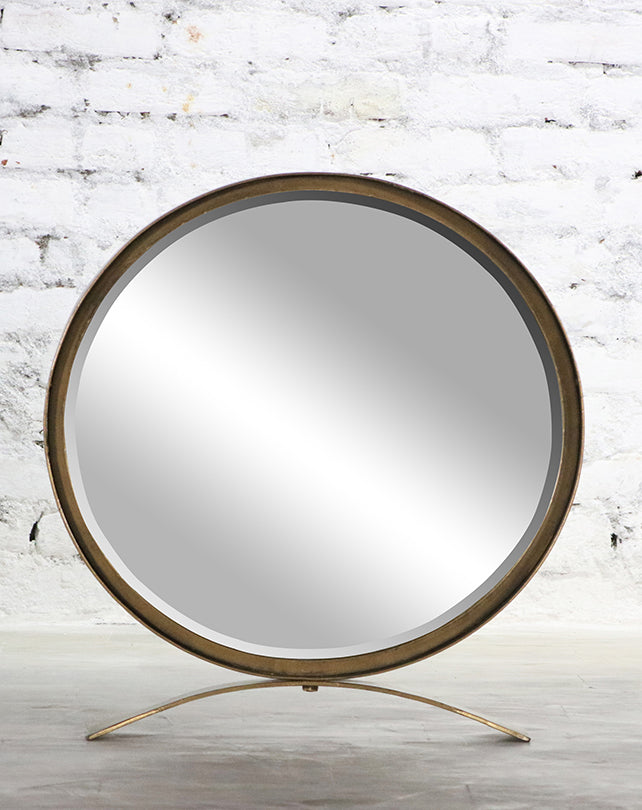 Zander Round Display Mirror