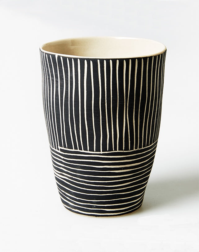 Pocket Planter Beaker Black
