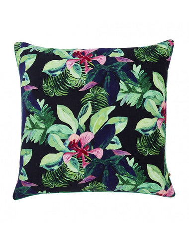 Rainforest Velvet Cushion 60x60