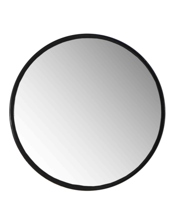 Industrial Round Mirror Large