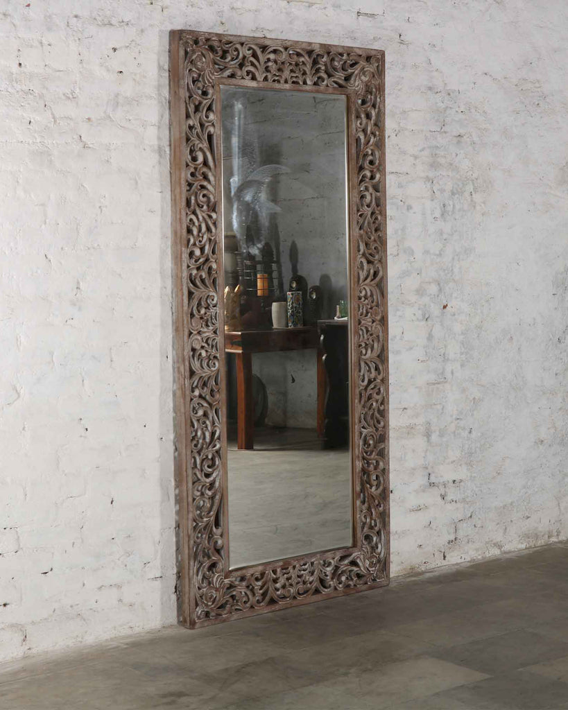 Ajmer Carved Mirror