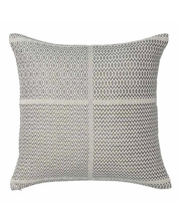 Honning Diamond ZigZag Cushion 50x50 - Grey