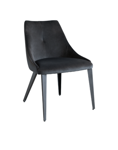 Olga Dining Chair (Dark Antrazit)