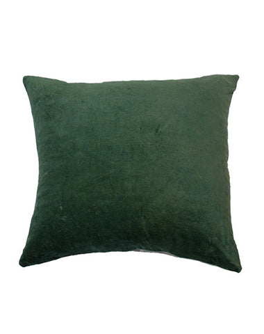 Essential Fern Velvet Cushion 50x55