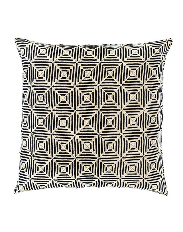 Sahara Linen Diamond Pin Tuck Cushion 50x50