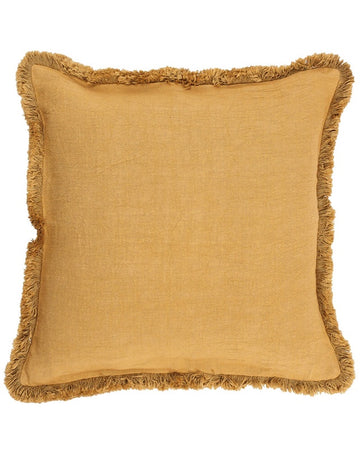 Luca Boho Cushion Spun Gold 60x60