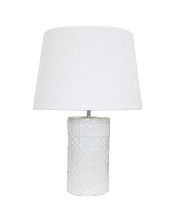 Trellis Lamp (White)