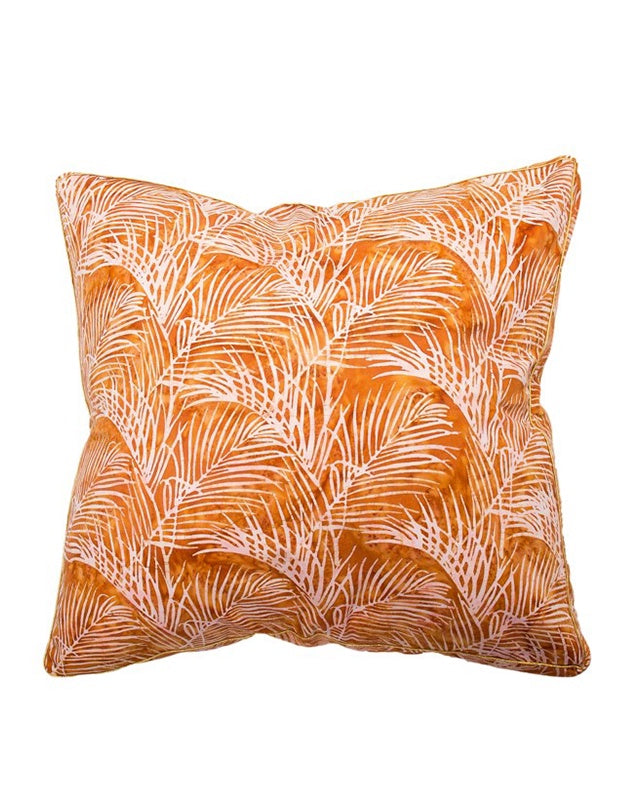 Quince Bangalow Palm Cushion 55x55