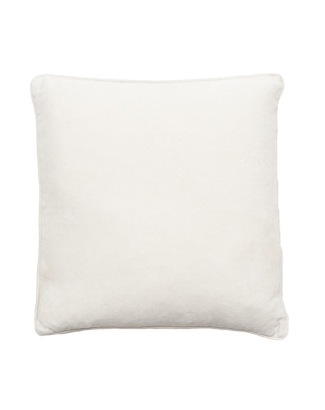 Lynette White Cushion 50x50
