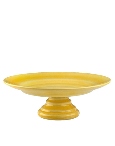 Yellow Basic cake stand