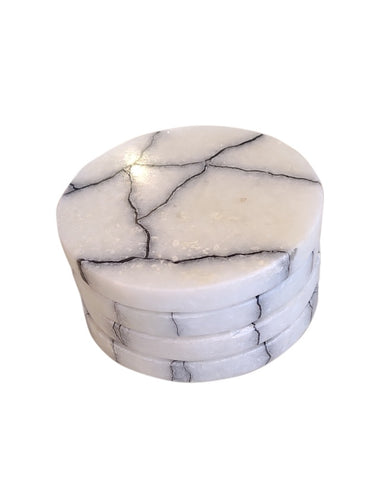 Breaking Stone Coasters- Set of 4
