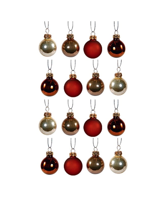 Silhouette Ball Decoration Set of 12