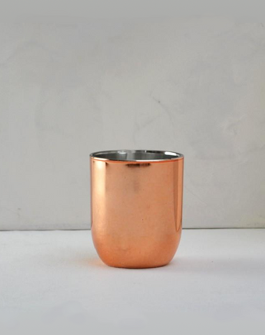 Copper Votive Curved