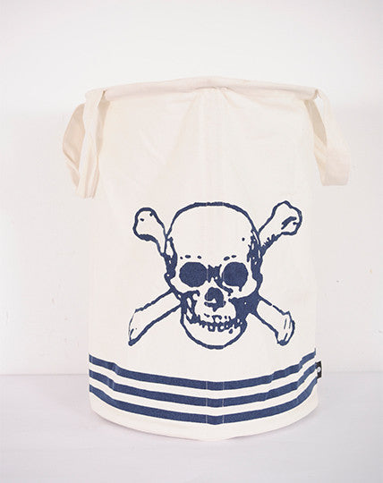 Skull & Crossbones laundry basket