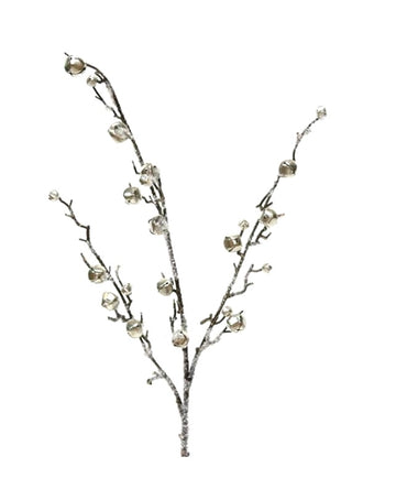 Branch with Silver Bells