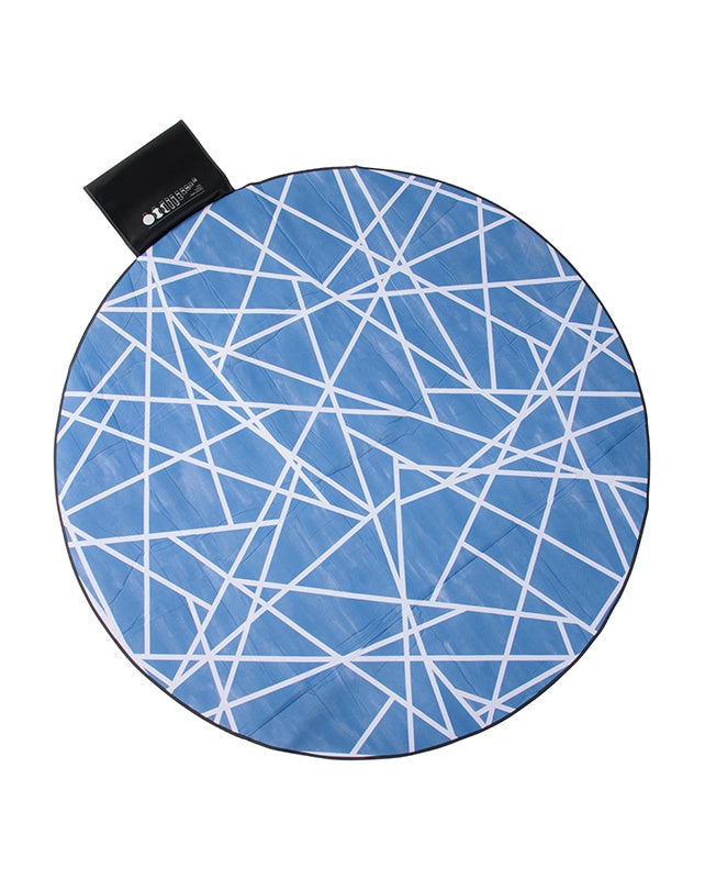 Geometric Sky by Sarah Ellison Love Rug