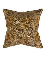 Ochre Pebblestone Cushion 55x55