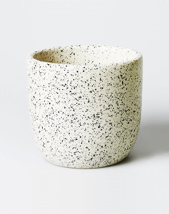 Speckle Pot White - Small