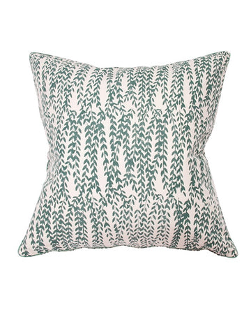 Emerald Cascading Fern Cushion 50x50