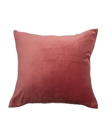 Essential Shimmering Rose Velvet Cushion 60x60