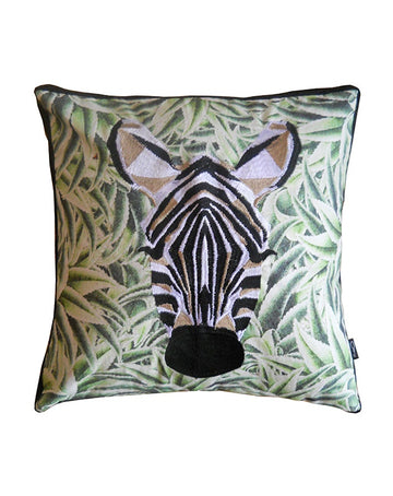 Jungle Zebra Cushion 50x50