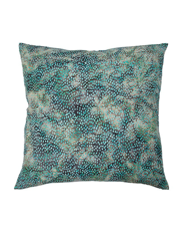 Midnight Aqua Rain Cushion 60x60