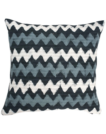 Bagru Cushion 50x50 - Blue