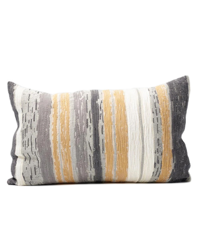 Dessiner Cushion Spun Gold/White/Grey 40x60