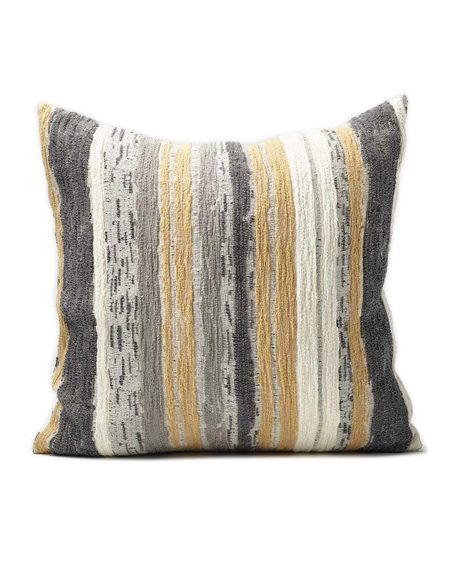 Dessiner Cushion Spun Gold/White/Grey 50x50