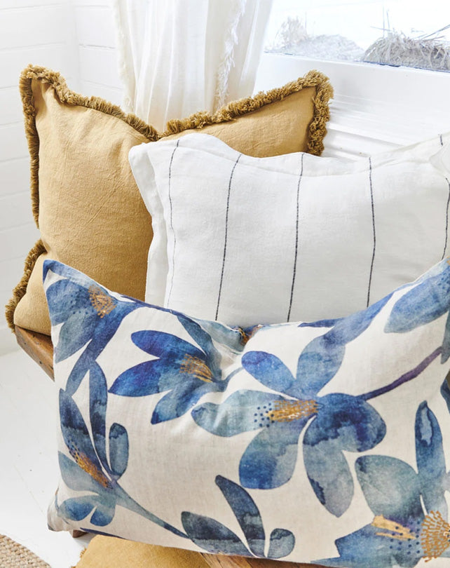 Luca Boho Cushion Spun Gold 50x50