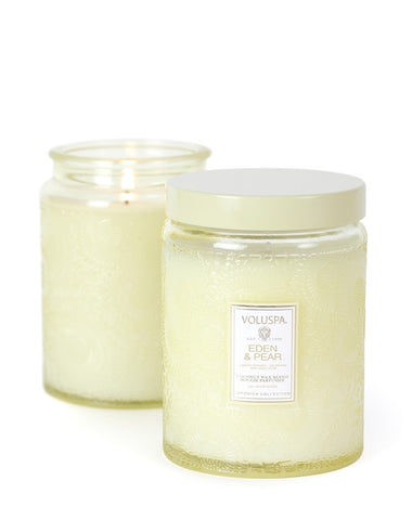 Voluspa Eden & Pear Candle 453g Jar