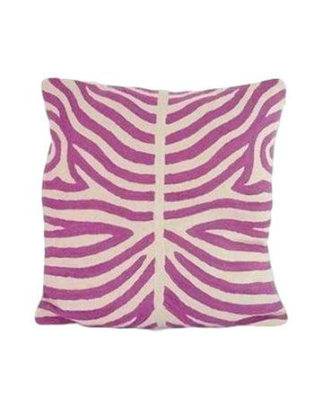 Zebra Purple Orchard cushion