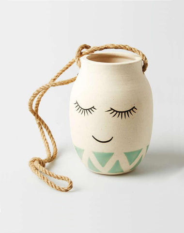 Miss Lashes Hanging Vase