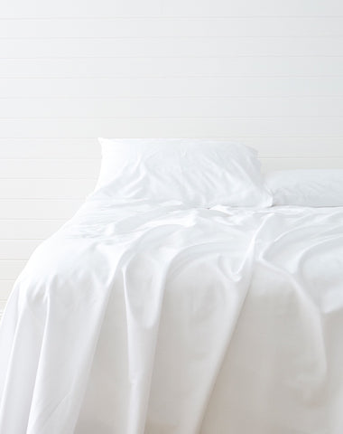 Eucalyptus Sheet Set White