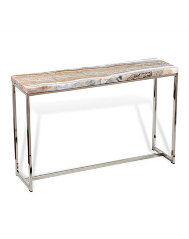 Henry Onyx Console 118 x 33