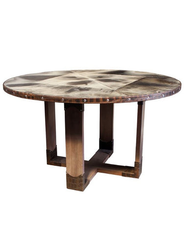Safari Round Dining Table
