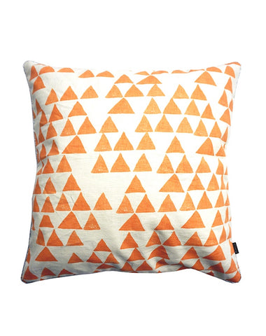 Prism Stripe Orange Cushion 50x50