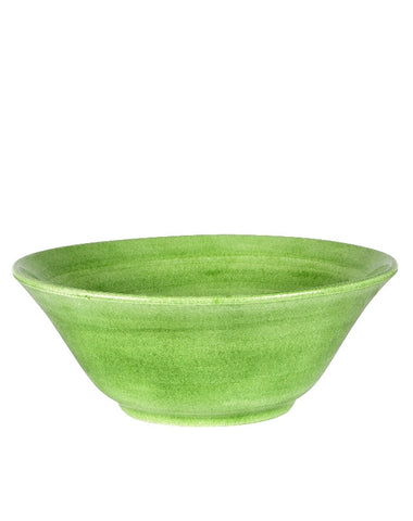 Green Flower Shape bowl