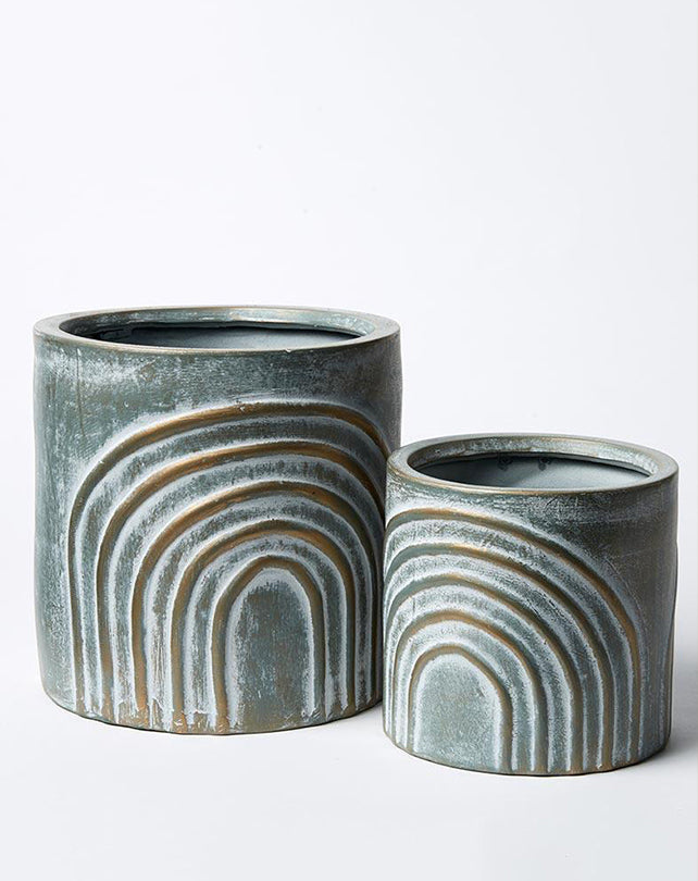 Rainbow Pot - Set of 2