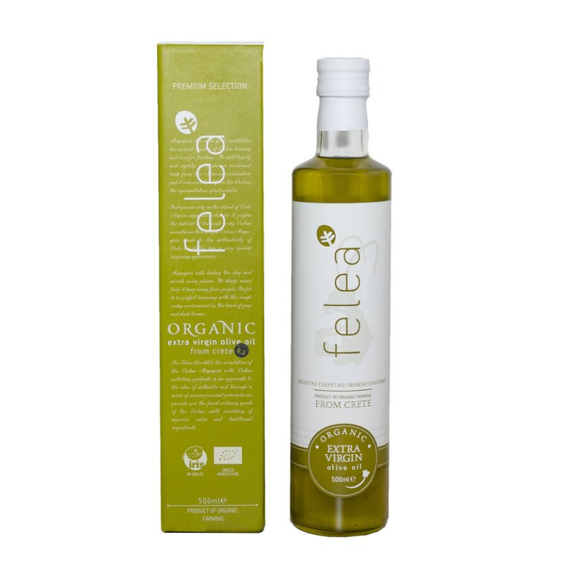 Feleagoods Organic Extra Virgin Olive Oil 500 ml