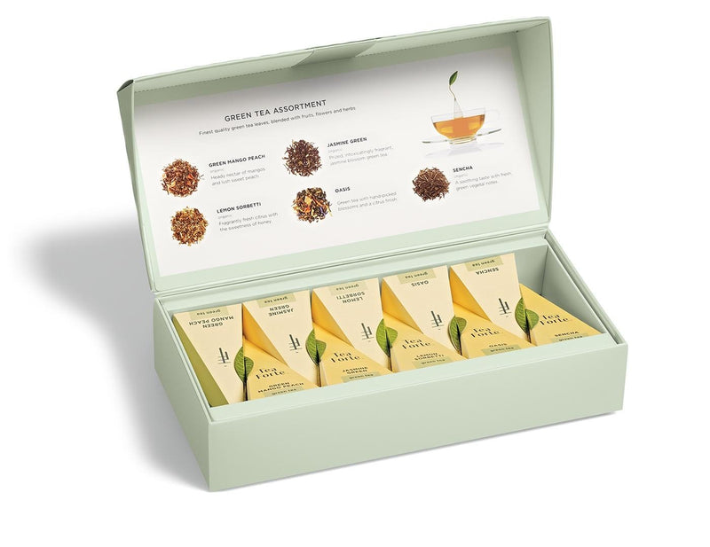 Petite Presentation Box Green Tea Assortments