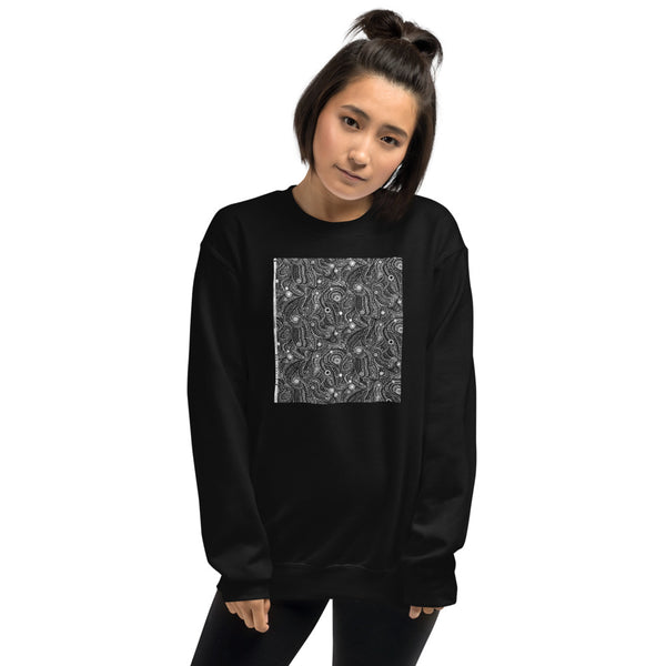 Effvervescence Pepper by Amelia Caruso Unisex Sweatshirt