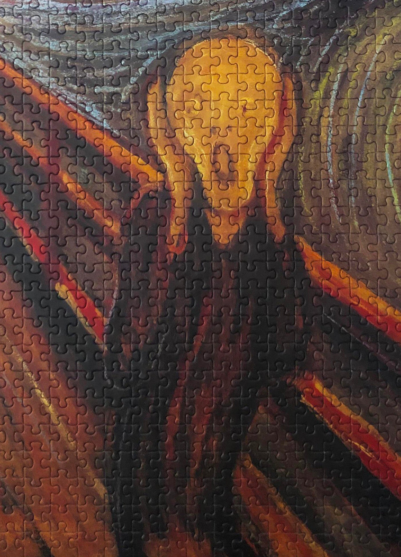 1000-piece Edvard Munch The Scream Jigsaw Puzzle - Rest In Pieces