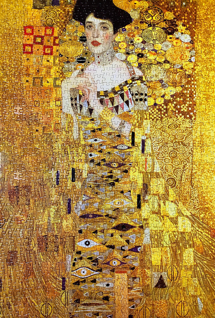 1000-piece Gustav Klimt Portrait of Adele Bloch-Bauer I Jigsaw Puzzle - Rest In Pieces