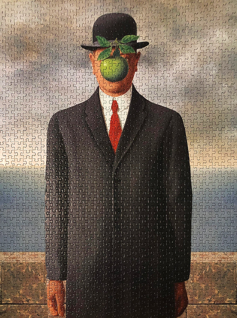 1000-piece René Magritte The Son of Man Jigsaw Puzzle - Rest In Pieces