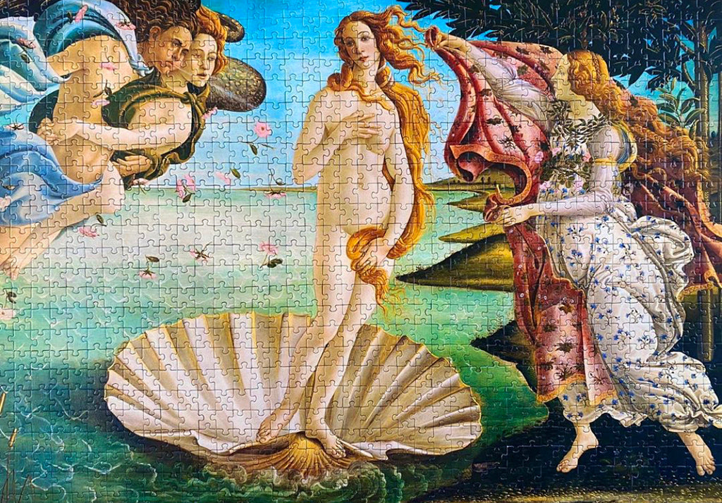 1000-piece Sandro Botticelli The Birth of Venus Jigsaw Puzzle - Rest In Pieces
