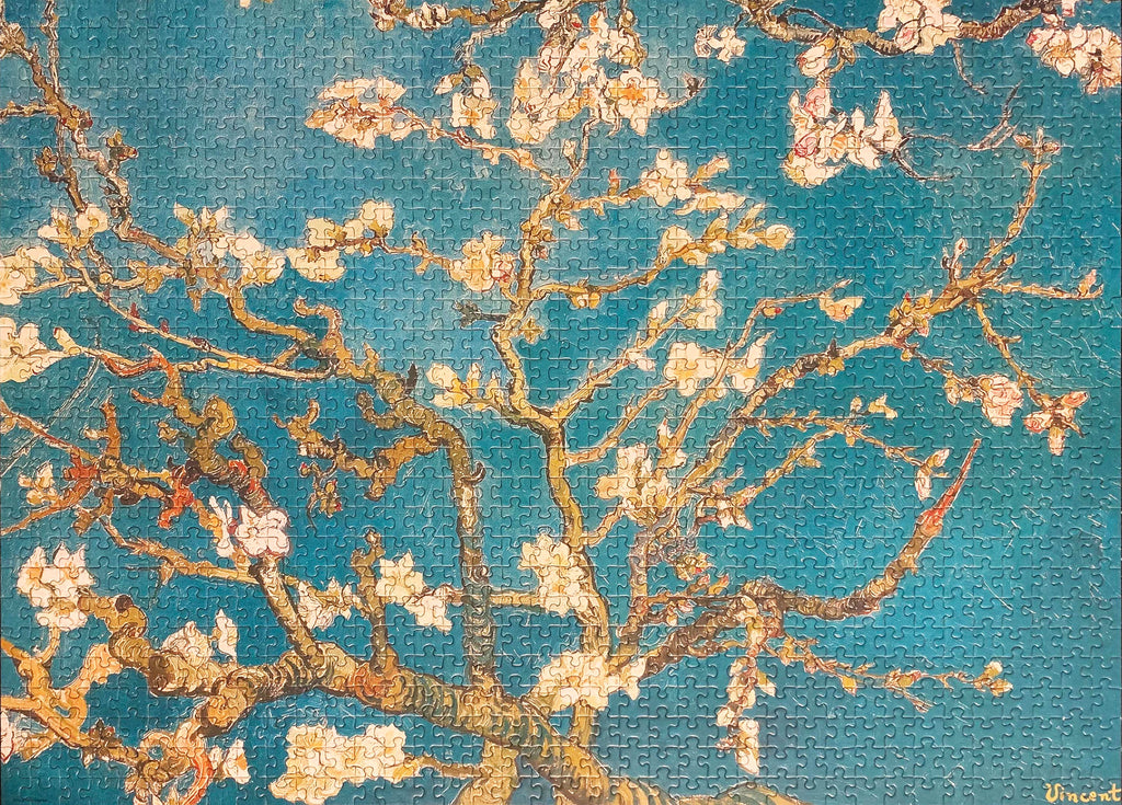 1000-piece Vincent Van Gogh Almond Blossom Jigsaw Puzzle - Rest In Pieces