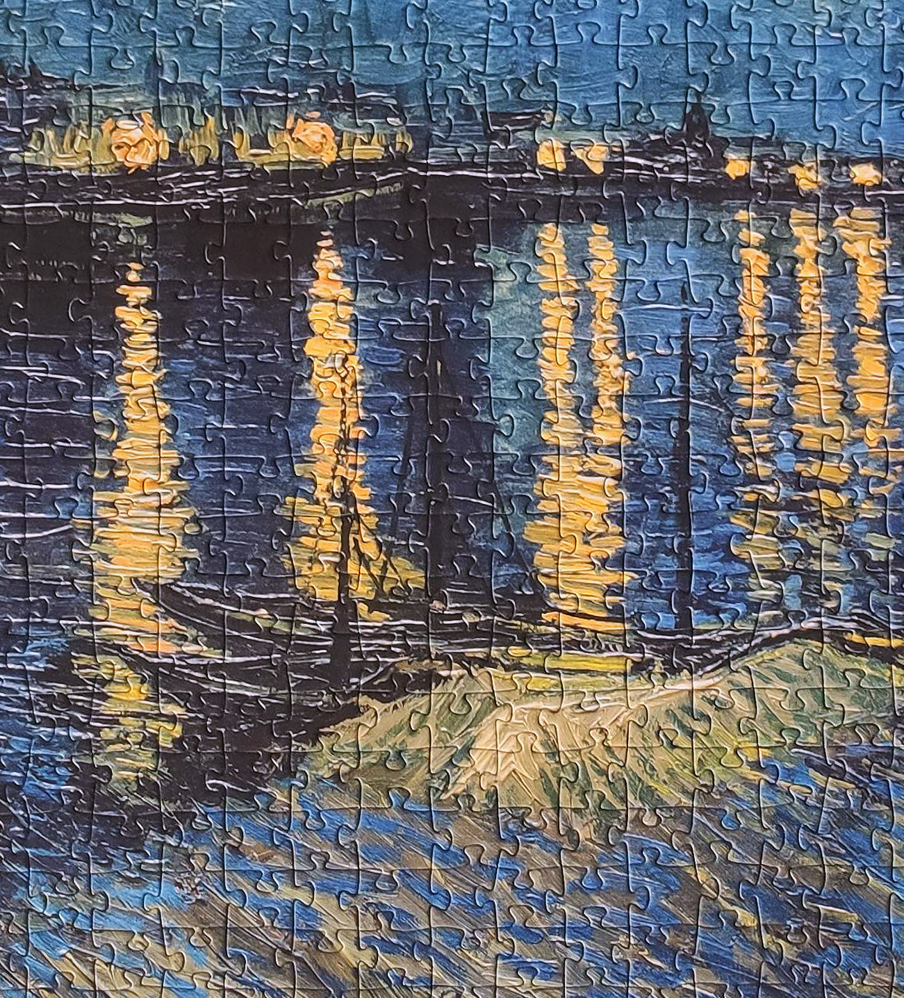 1000-piece Vincent Van Gogh Starry Night Over The Rhone Jigsaw Puzzle | Rest In Pieces